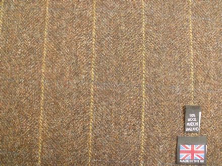 Country Tweed Windowpane Check Fabric AZ98